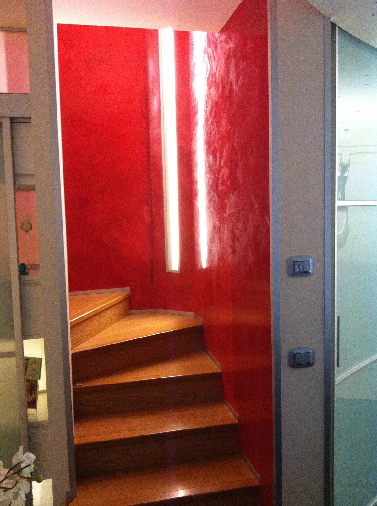 Tecniche di pareti interne best come tinteggiare casa con la tecnica del grassello arredamento - Tinteggiare casa tecniche ...